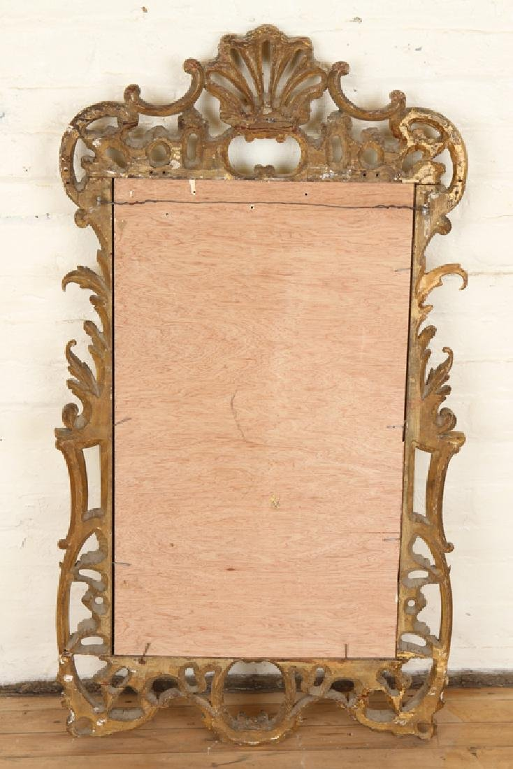 19TH CENT. GILT CARVED MIRROR ROCOCO STYLE - 4