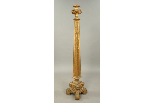 12: Interesting French carved and gilt wood floor