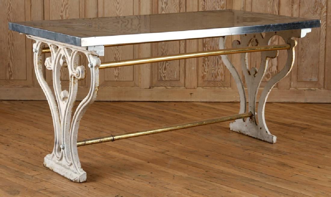 UNUSUAL FRENCH GARDEN TABLE