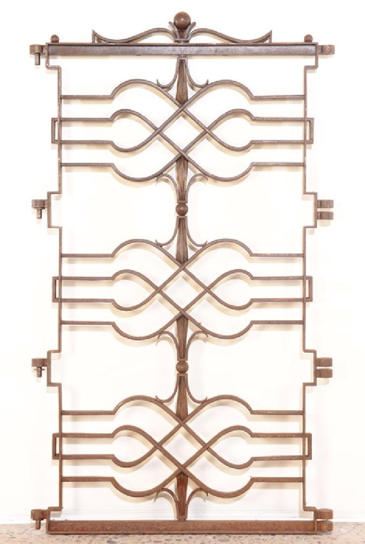 FRENCH IRON GATE IN REGENCY STYLE C.1920