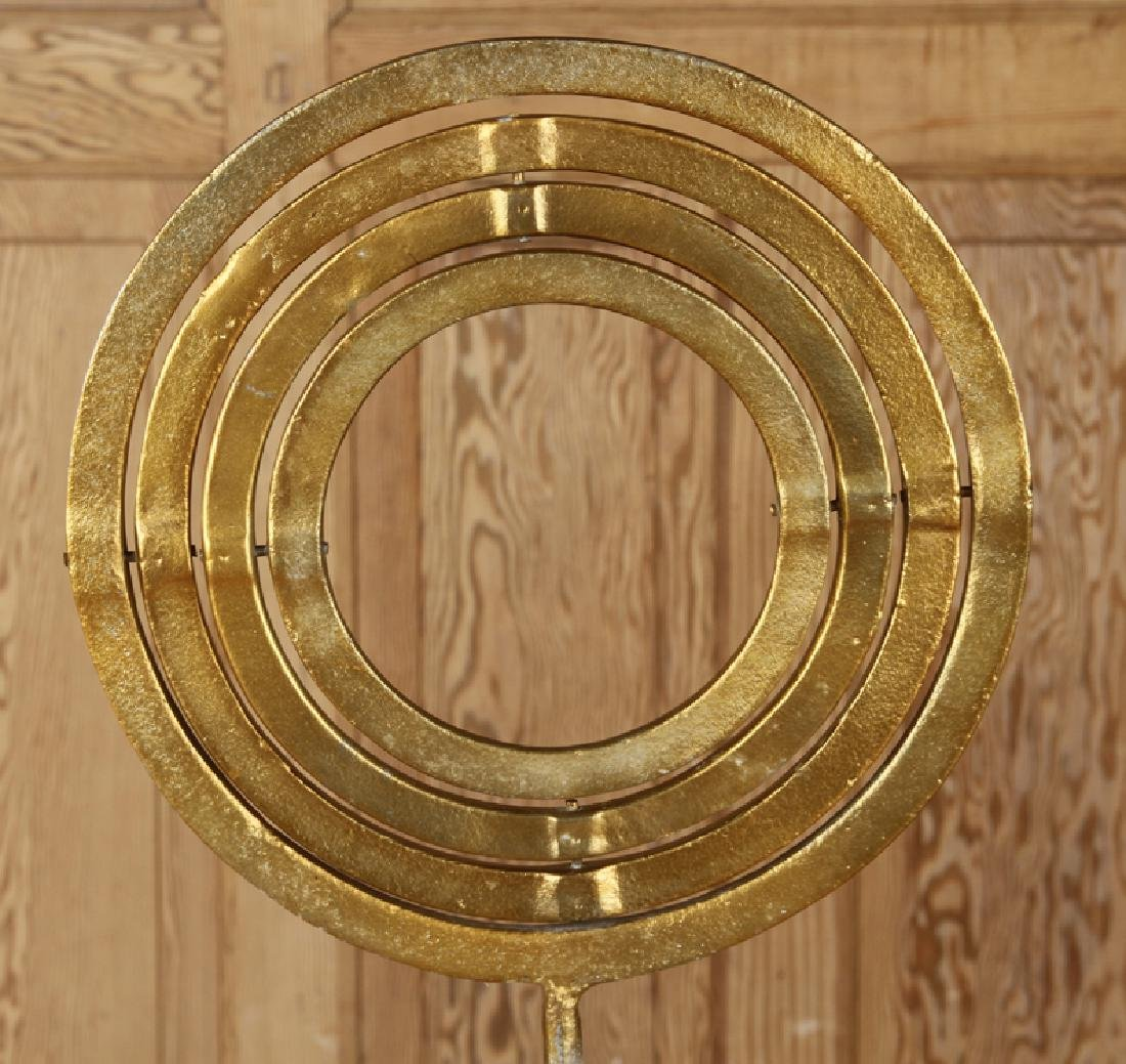MARBLE AND GILT METAL ARMILLARY SPHERE - 5