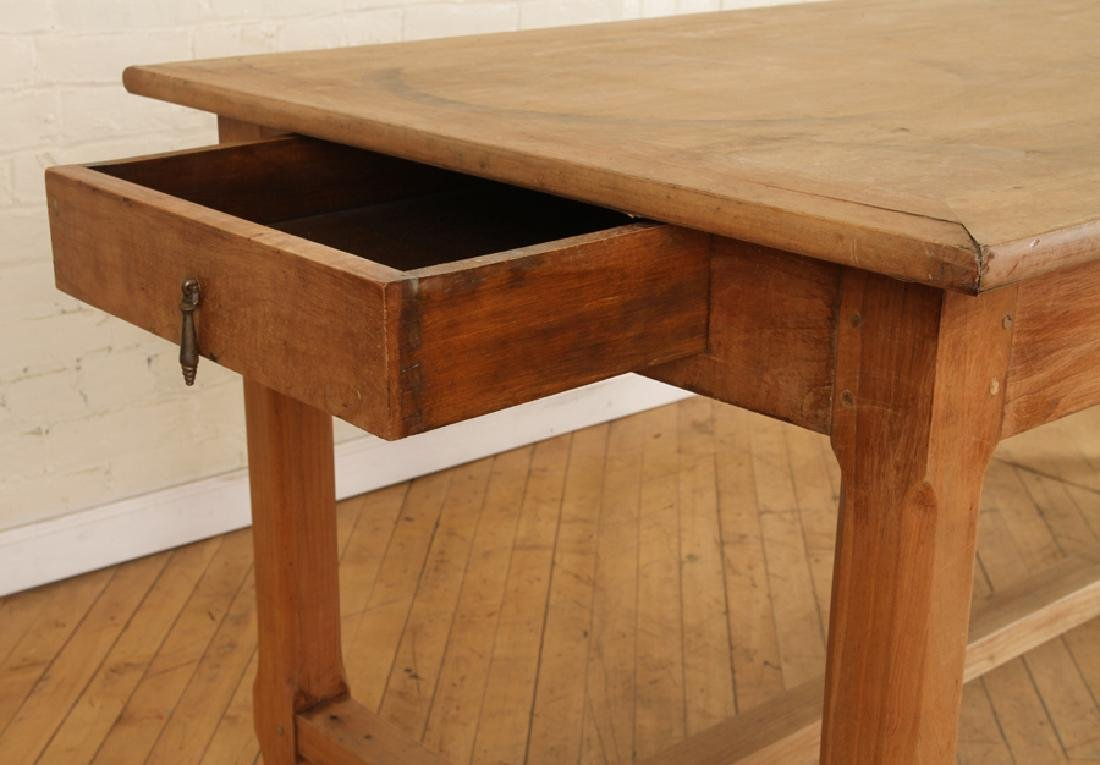 FRENCH MONASTERY STYLE TABLE CIRCA 1940 - 4