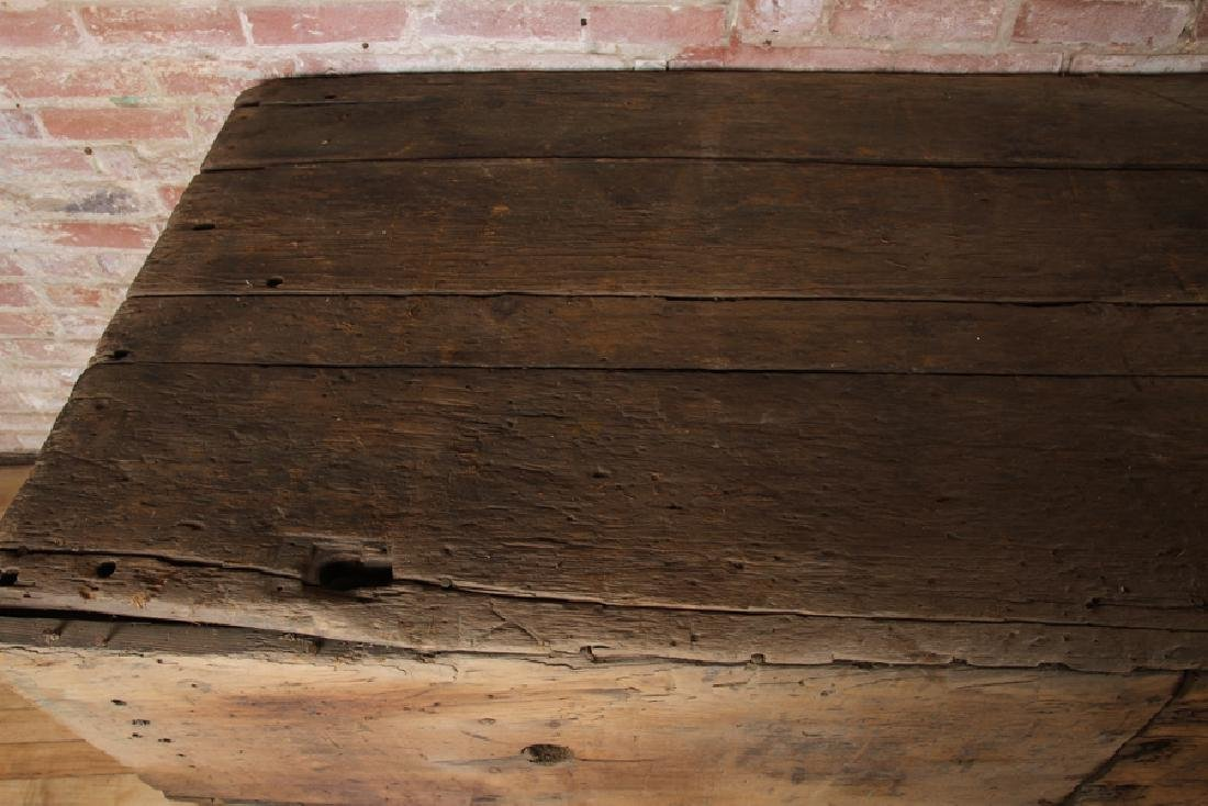 LARGE 19TH CENTURY POTTING TABLE - 3