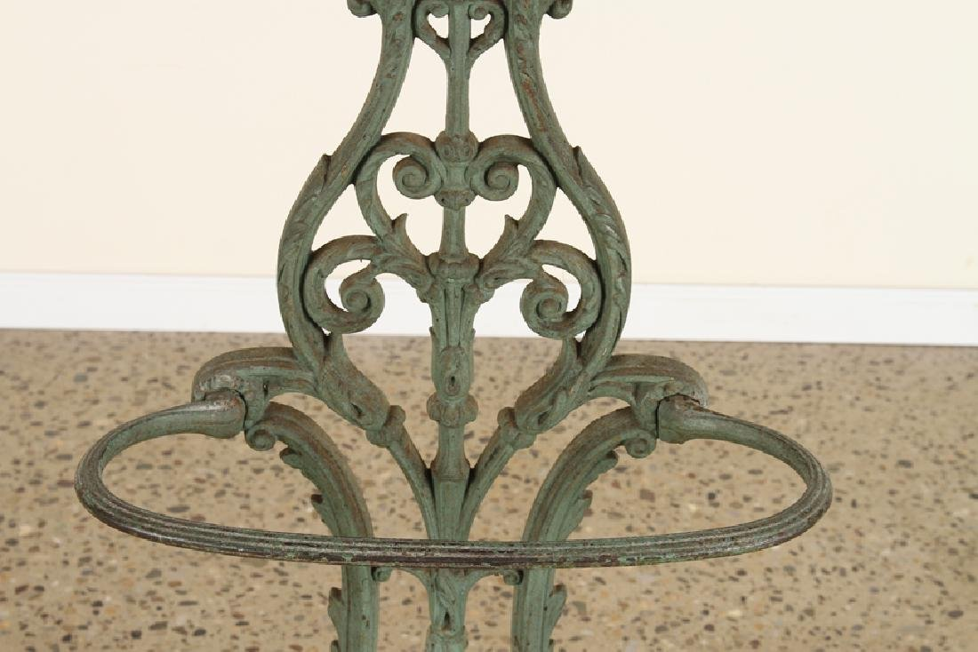 FRENCH CAST IRON COAT RACK UMBRELLA STAND C.1870 - 4