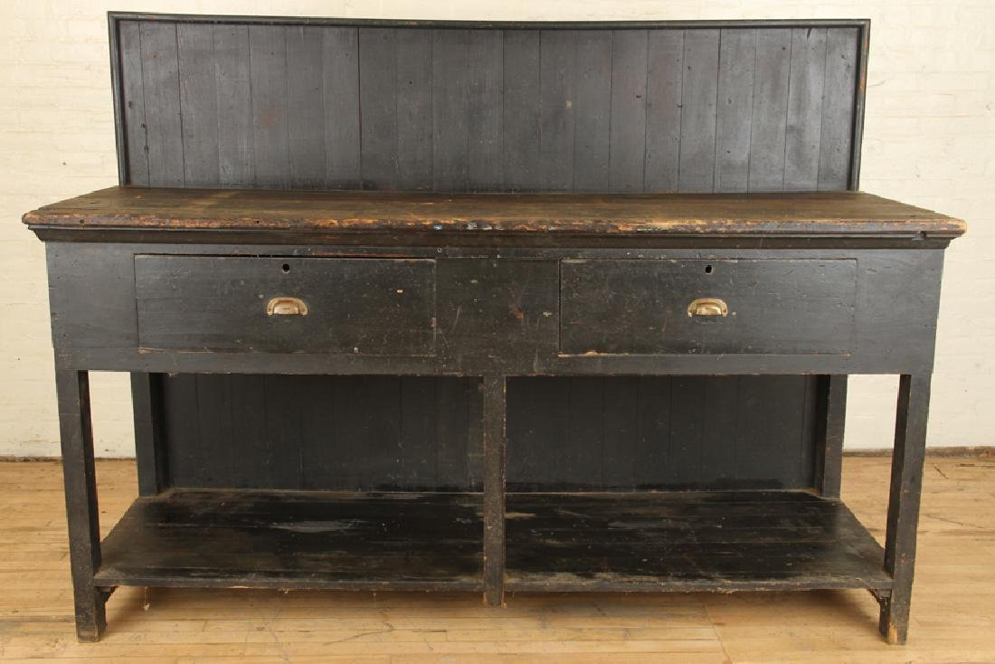 19TH CENTURY WORK BENCH