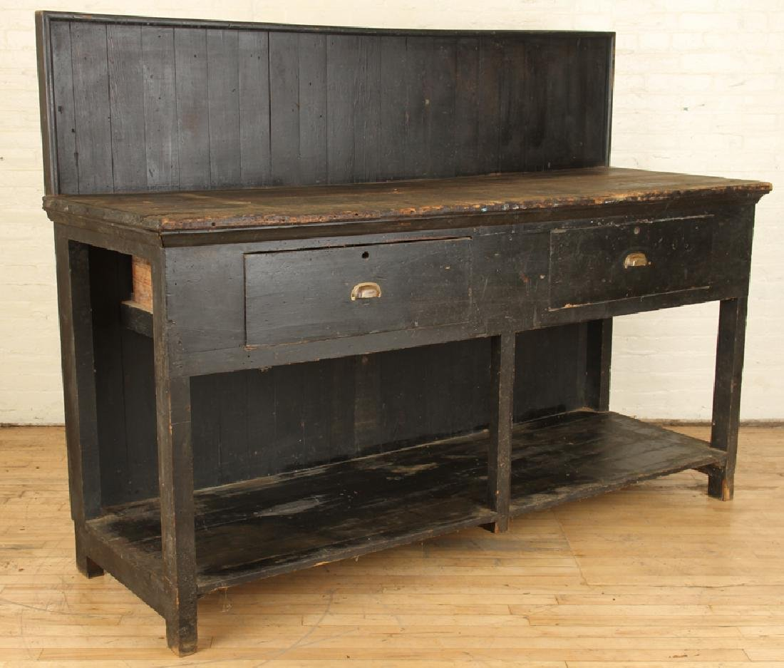 19TH CENTURY WORK BENCH - 2