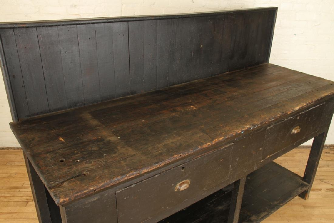 19TH CENTURY WORK BENCH - 3