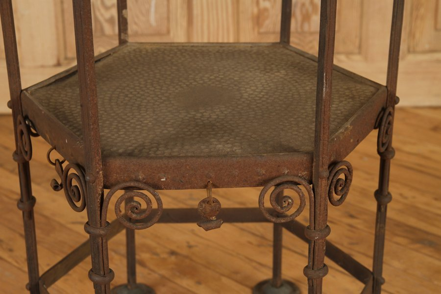 BRONZE OCCASIONAL TABLE SECESSIONIST STYLE C.1920 - 3