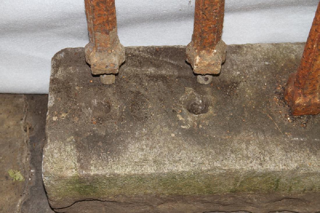 CAST IRON GOTHIC FENCE CIRCA 1860 - 6