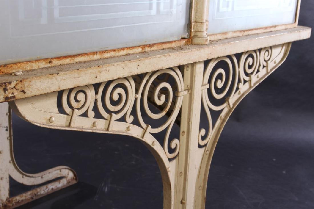 FRENCH WROUGHT IRON POTTING TABLE 1910 - 5