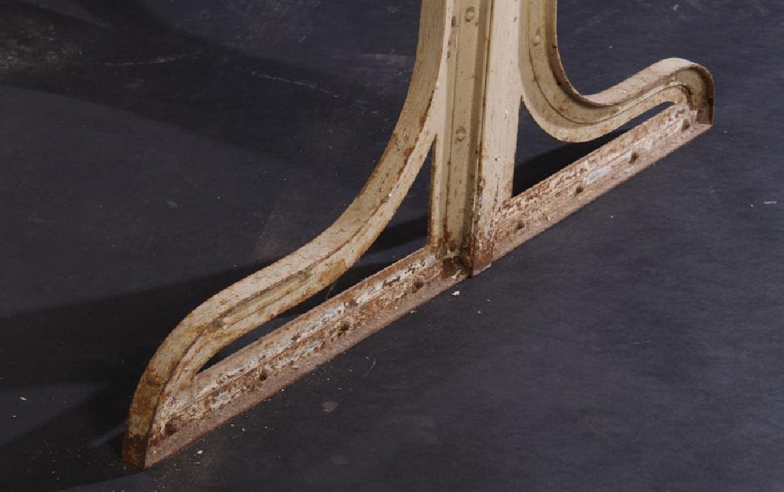 FRENCH WROUGHT IRON POTTING TABLE 1910 - 6