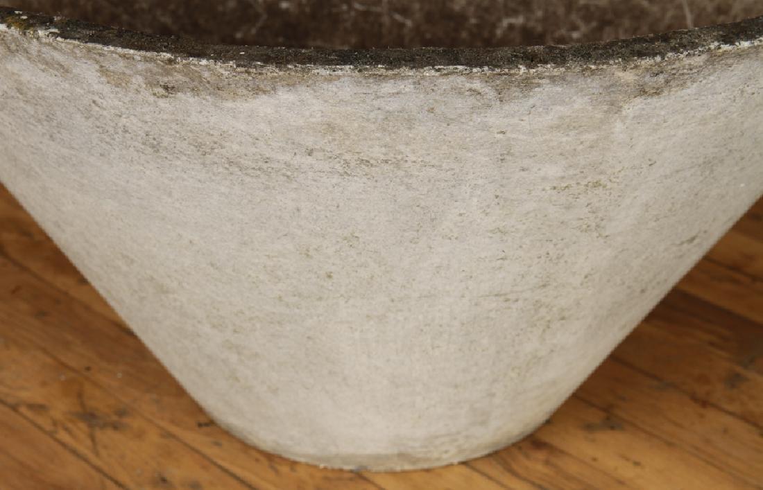 ROMAN STYLE CAST STONE GARDEN URN BY WILLY GUHL - 3