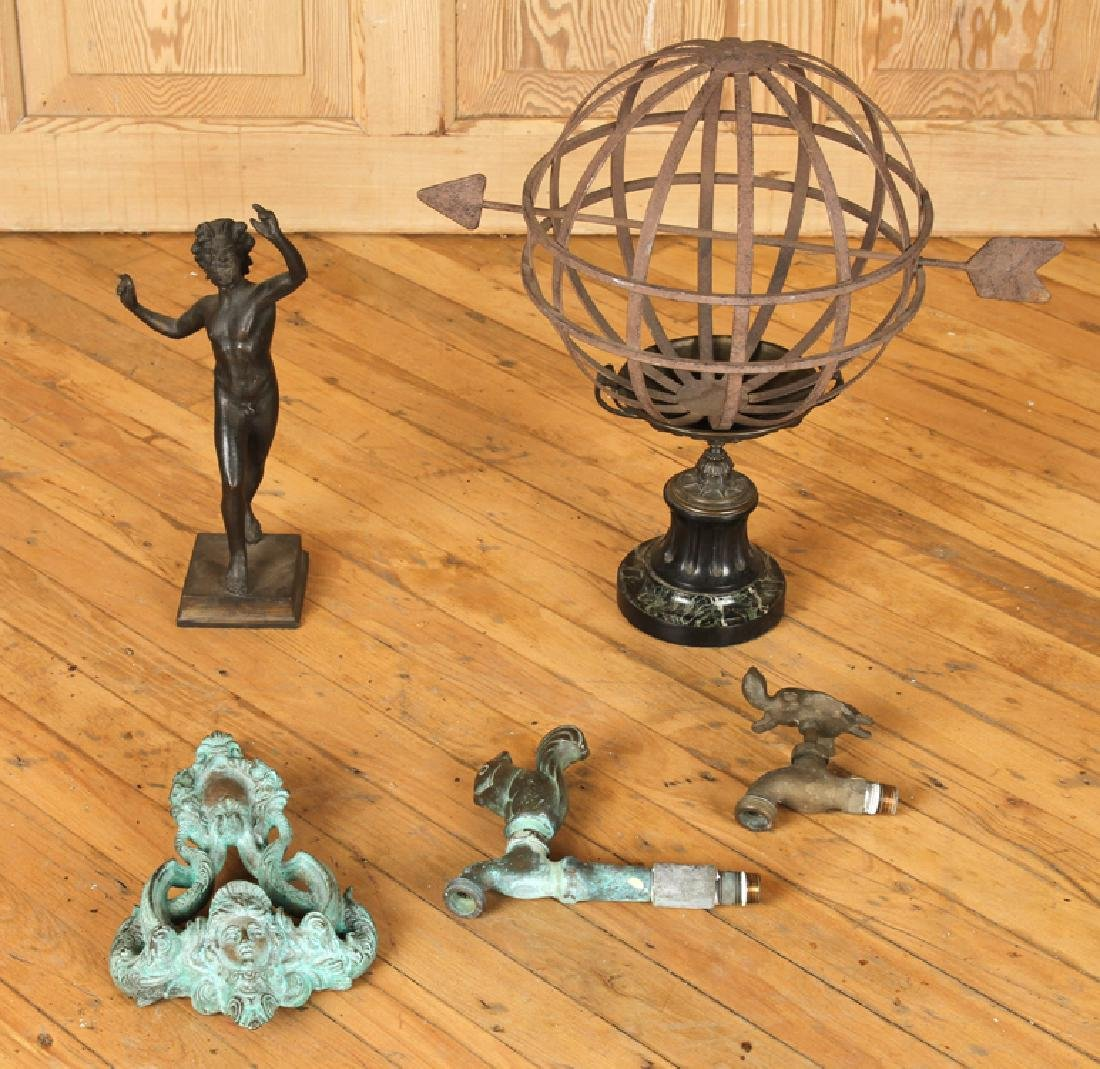 COLLECTION OF 5 GRAND TOUR ANTIQUES