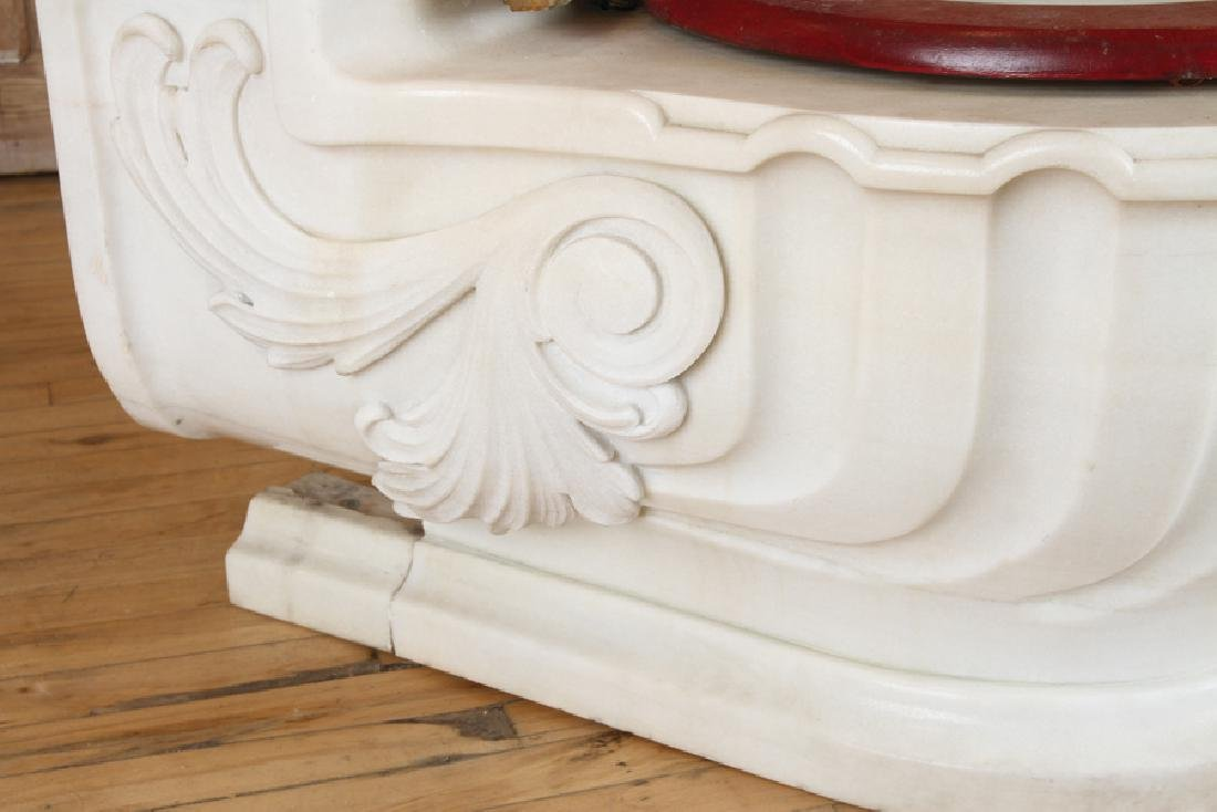 SHERLE WAGNER ITALIAN CARVED MARBLE TOILET - 4