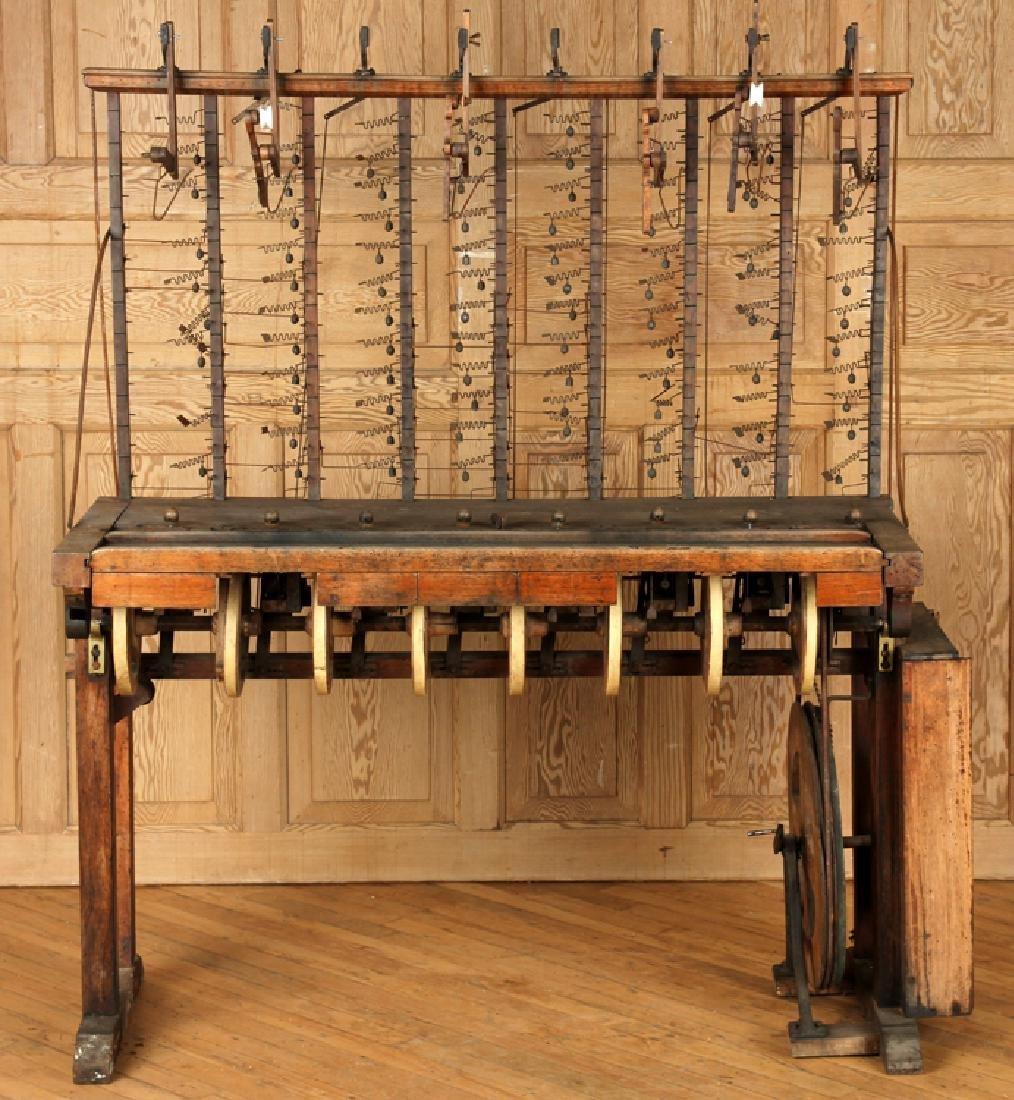 INTERESTING 19TH CENTURY WOOD AND IRON MACHINE - 2