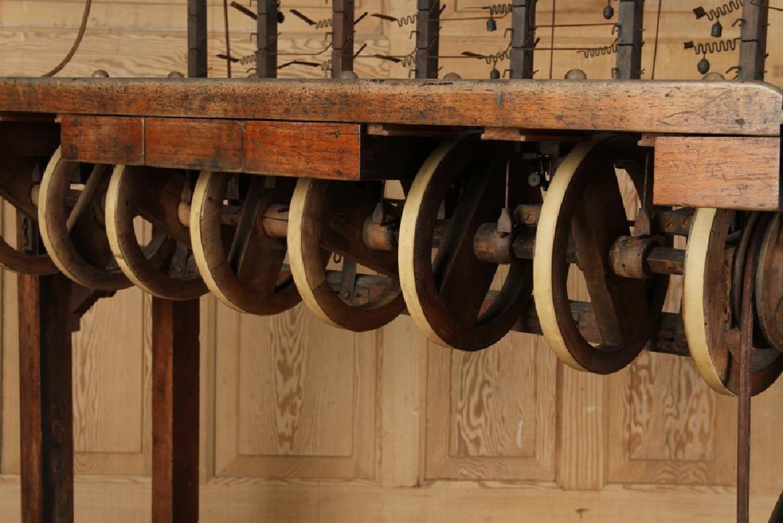 INTERESTING 19TH CENTURY WOOD AND IRON MACHINE - 6