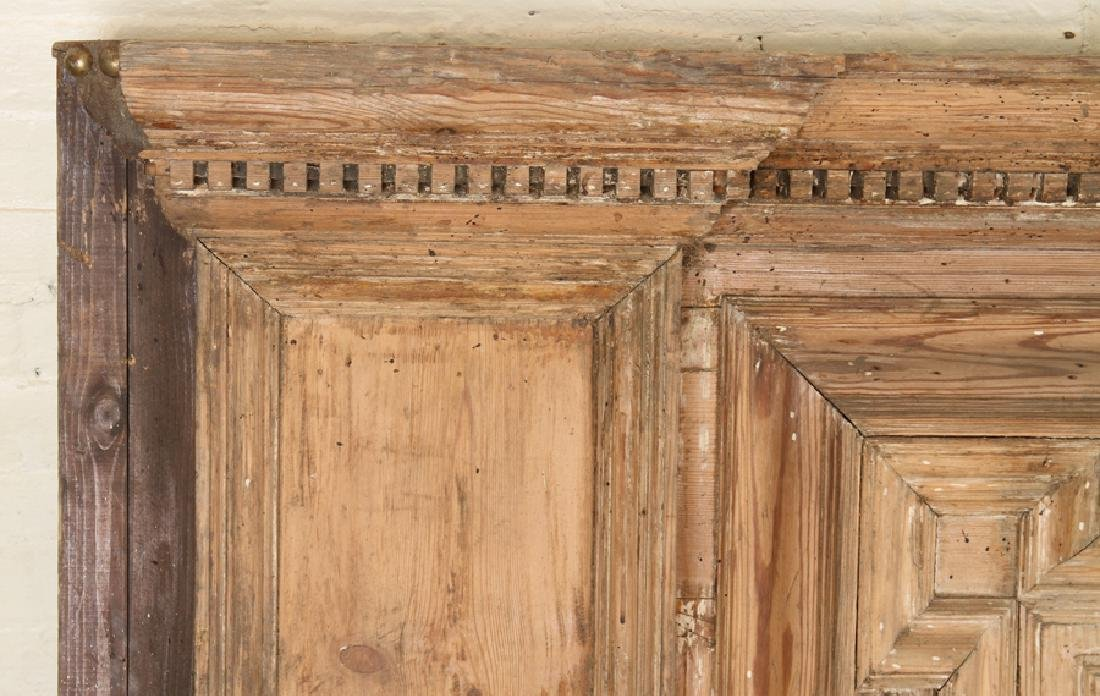 19TH CENTURY PINE ARCHITECTURAL PANEL BAR/COUNTER - 2