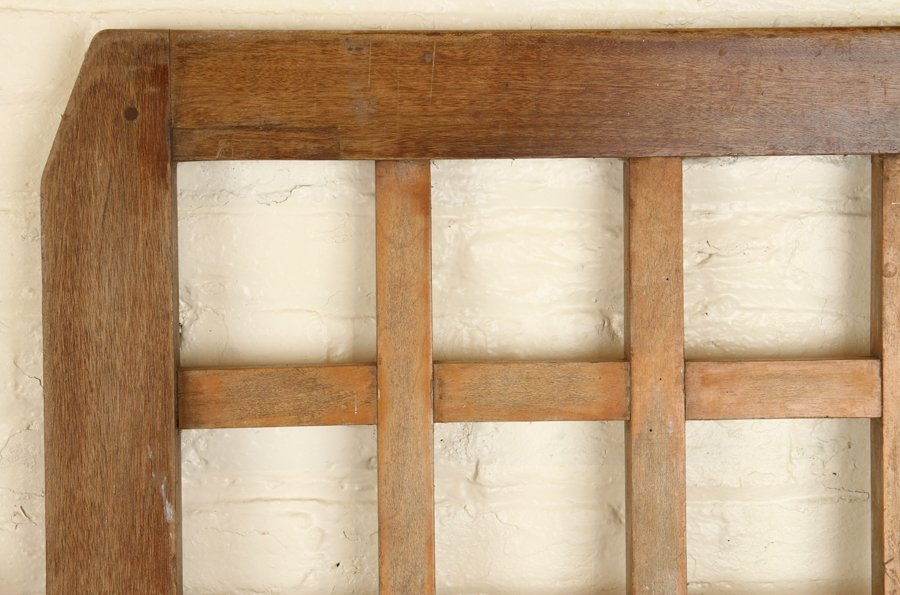 PAIR OF WOOD GATES CIRCA 1900 - 2