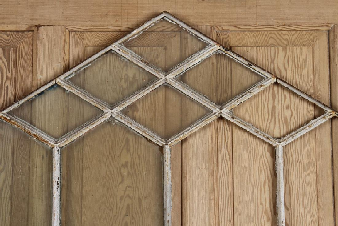 LOT OF 3 WINDOW FRAMES GOTHIC INSPIRED C.1890 - 4