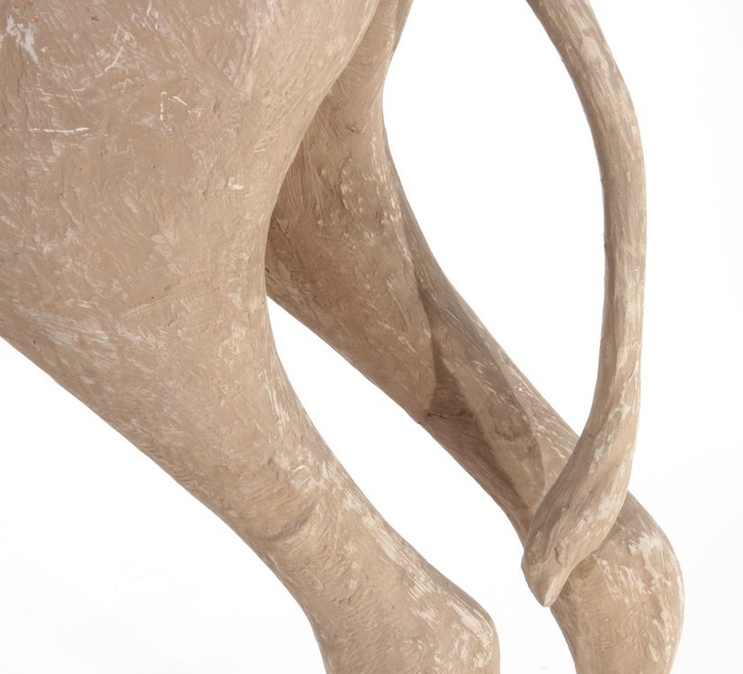 PAIR OF STANDING COMPOSITE CAMELS - 7