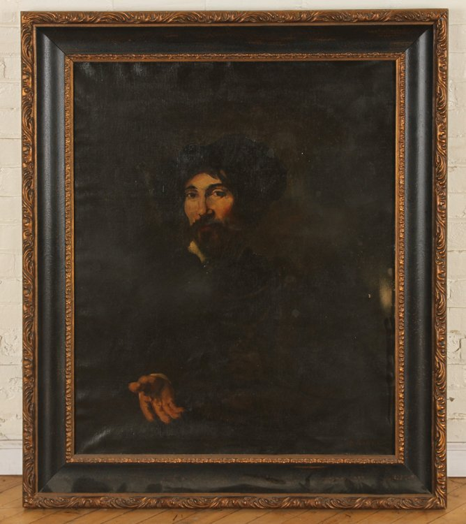 THEODULE AUGUSTIN RIBOT OIL ON CANVAS SIGNED