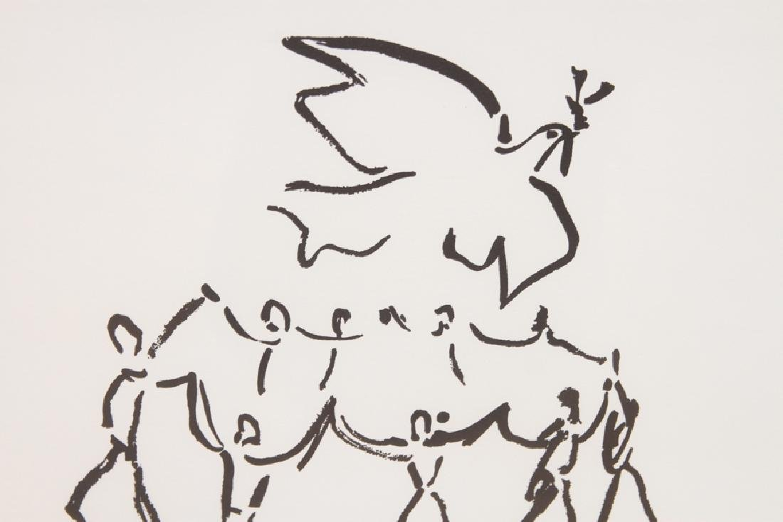 """PABLO PICASSO """"YOUTH CIRCLE"""" PRINT - 4"""