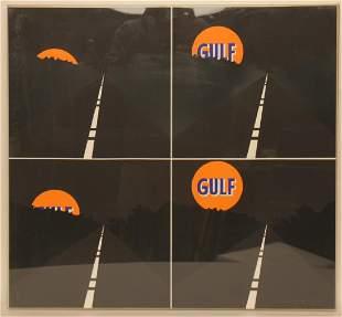 "ALLAN D'ARCANGELO ""GULF (JUNE MOON)"" SIGNED"