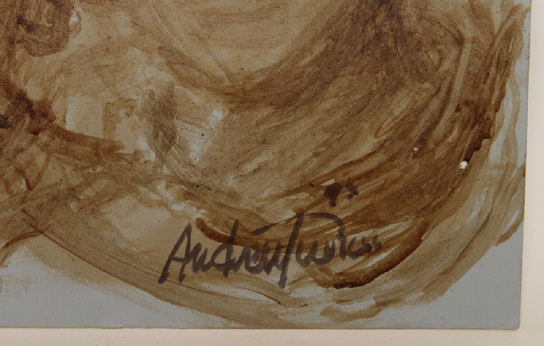 """ANDREW TURNER """"SISTERS"""" COFFEE ON POSTER BOARD - 3"""