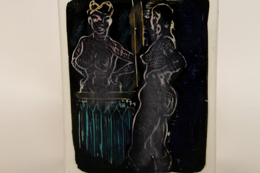 FRANCIS MCCARTHY TWO WORKS OF POTTERY SIGNED - 6