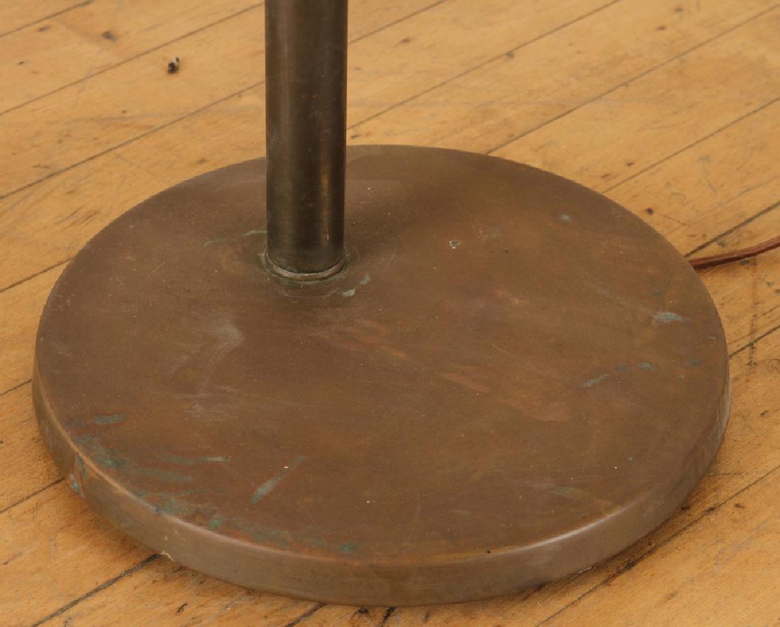 FLIP TOP BRASS FLOOR LAMP KURT VERSON - 4