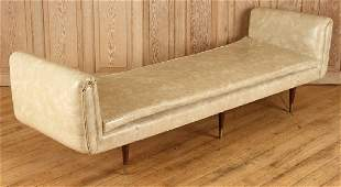 MID CENTURY MODERN UPHOLSTERED DAY BED C.1960