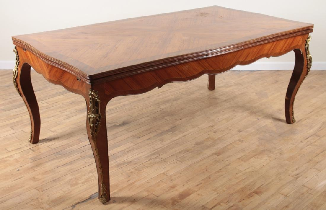 LOUIS XV STYLE DINING ROOM TABLE 1950 - 2