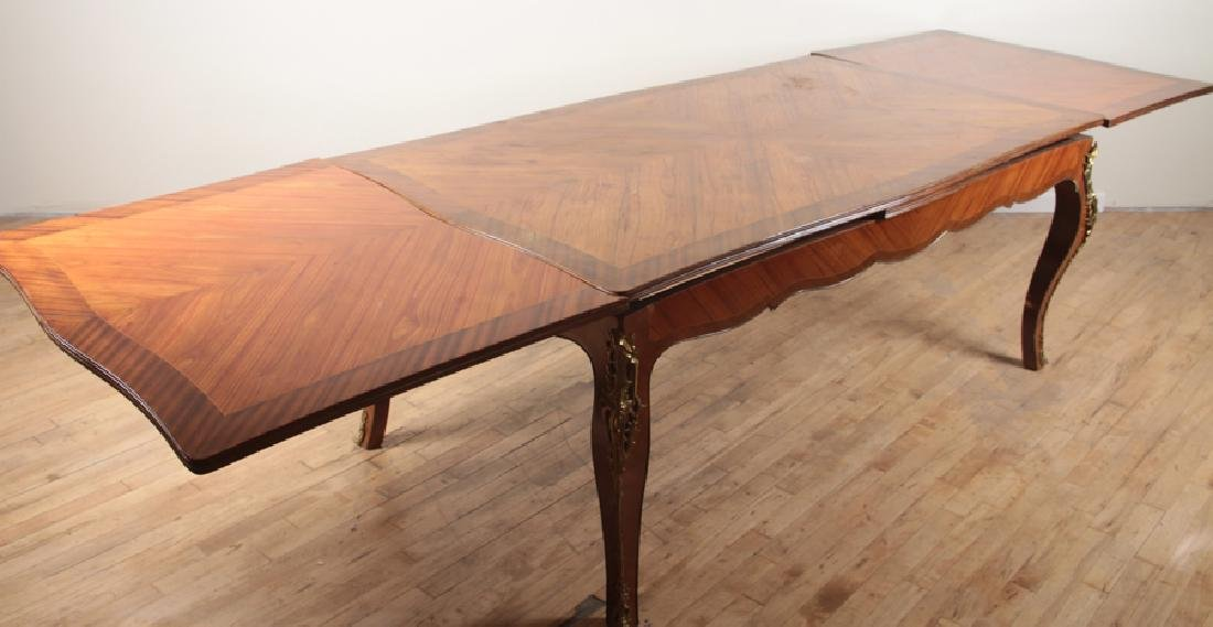 LOUIS XV STYLE DINING ROOM TABLE 1950 - 4