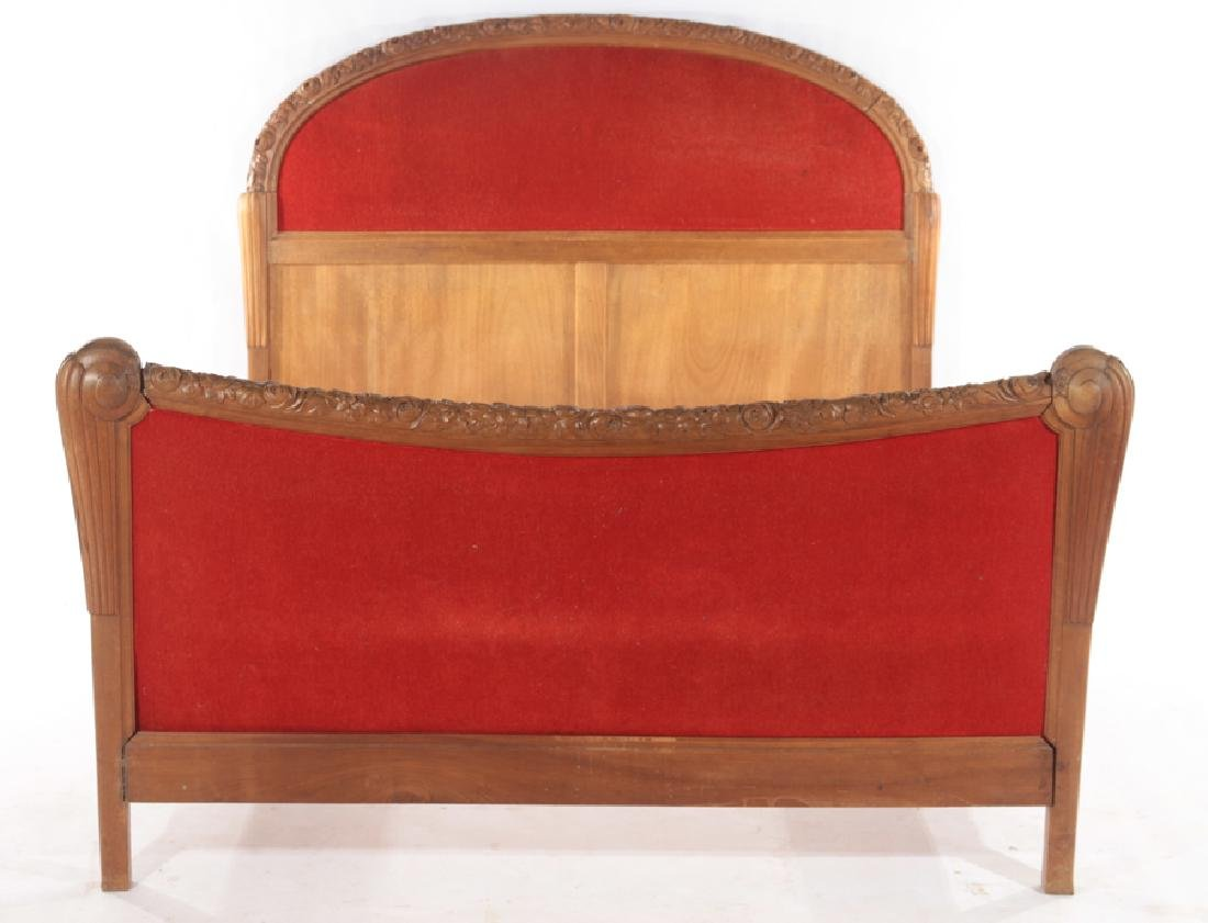 FULL SIZE FRENCH ART DECO BED C.1935