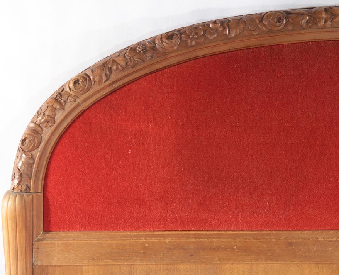 FULL SIZE FRENCH ART DECO BED C.1935 - 2
