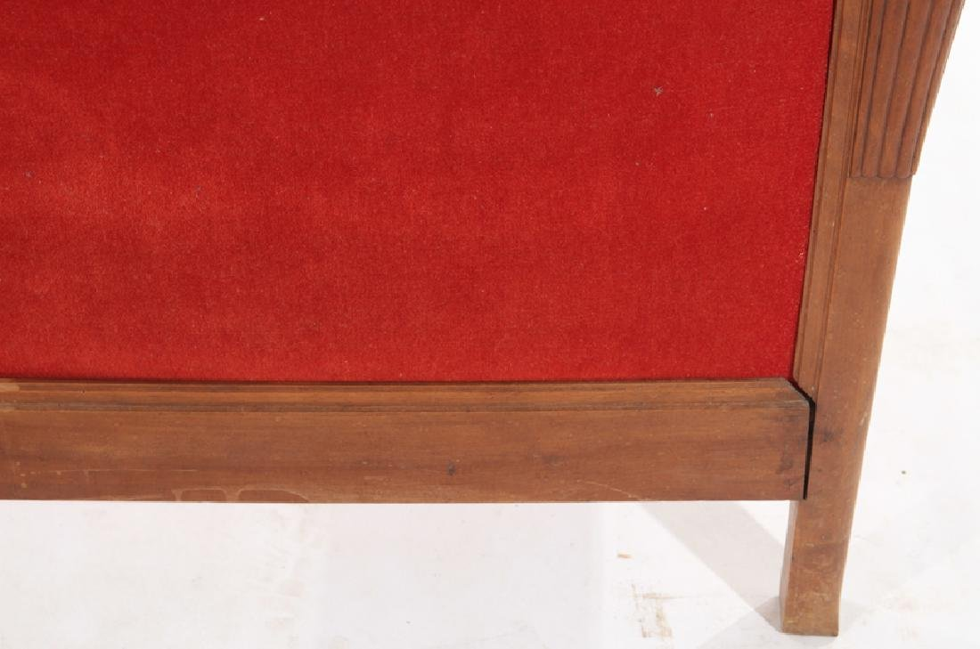 FULL SIZE FRENCH ART DECO BED C.1935 - 5