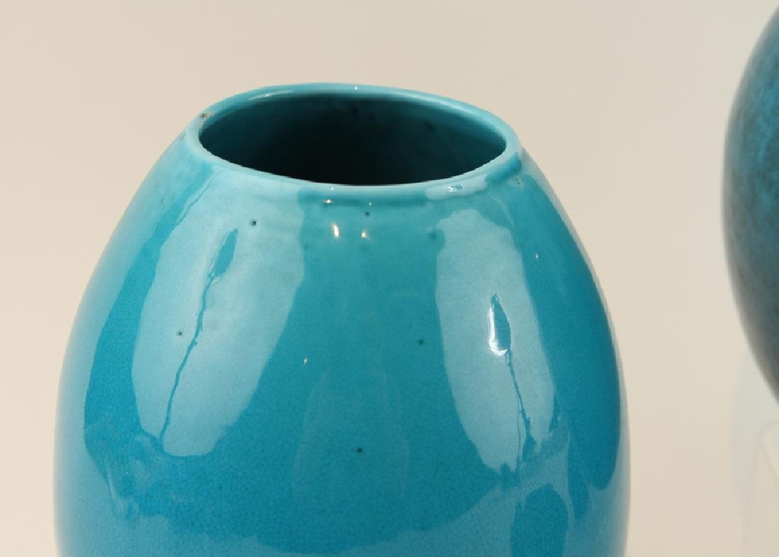 COLLECTION OF FOUR ART POTTERY VASES - 4