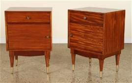 PAIR MID CENTURY MODERN SIDE TABLES C.1960