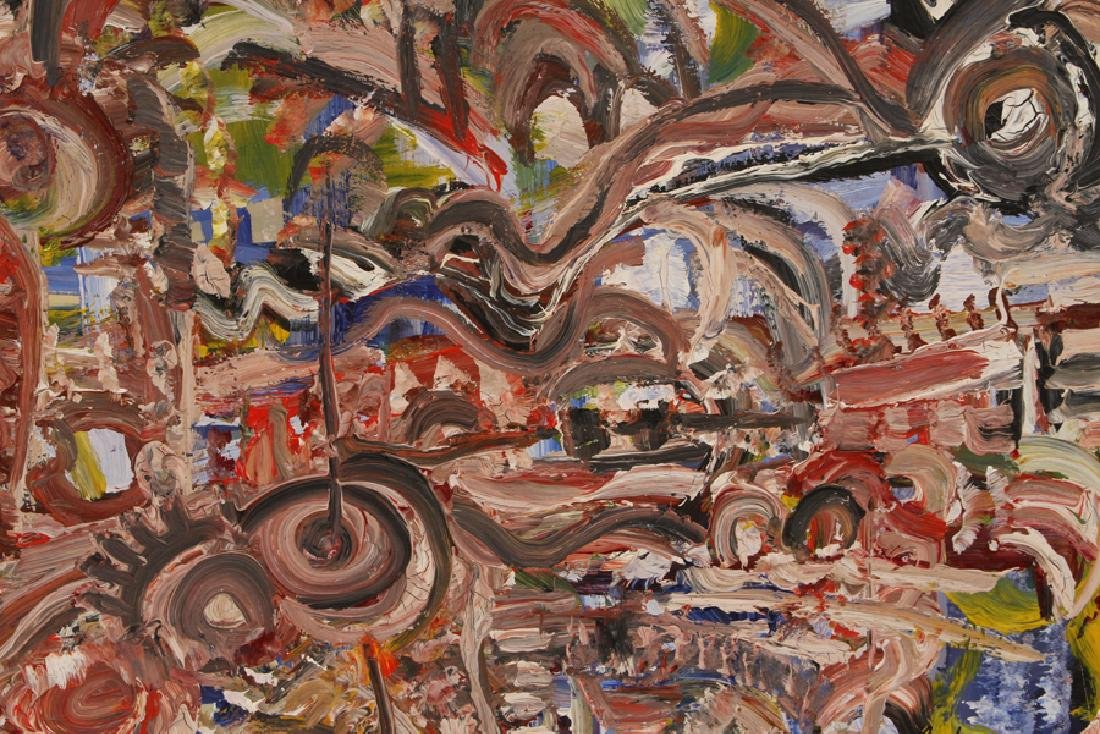 ANDREW TURNER ABSTRACT COMPOSITION SIGNED DATED - 3