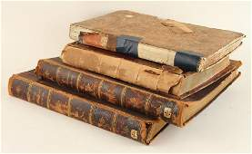 COLLECTION OF FOUR 19TH CENTURY MEDICAL BOOKS