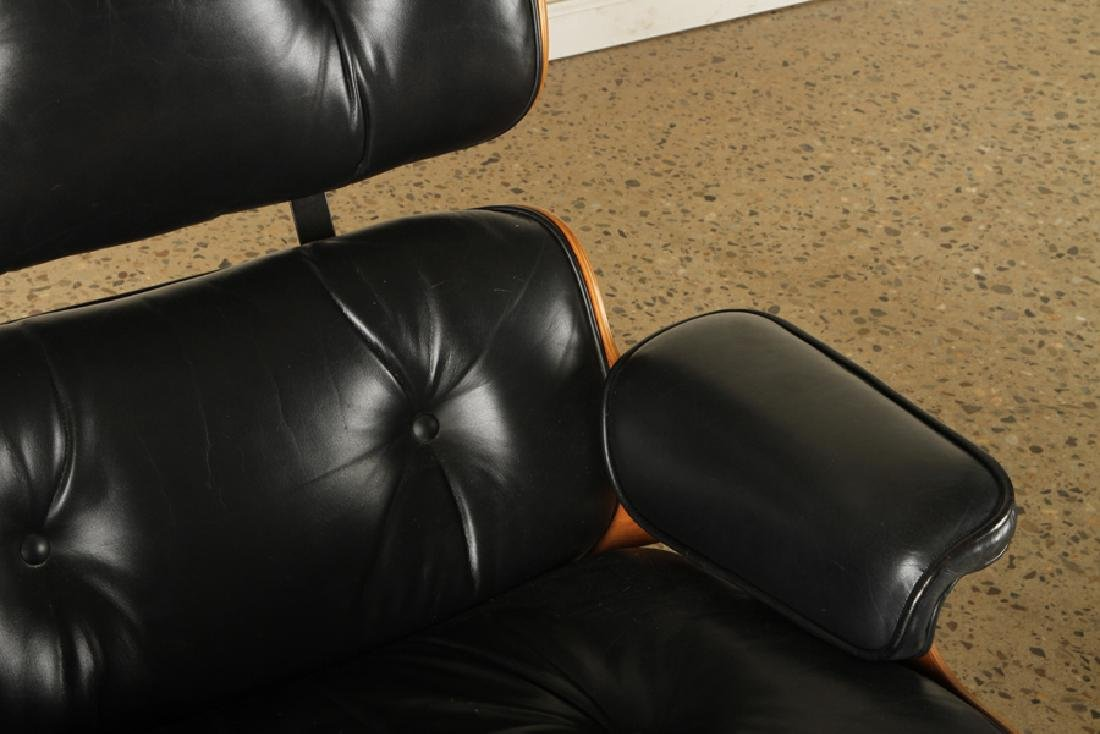 CHARLES EAMES FOR HERMAN MILLER CHAIR & OTTOMAN - 4