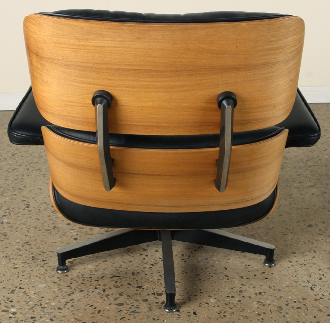 CHARLES EAMES FOR HERMAN MILLER CHAIR & OTTOMAN - 5