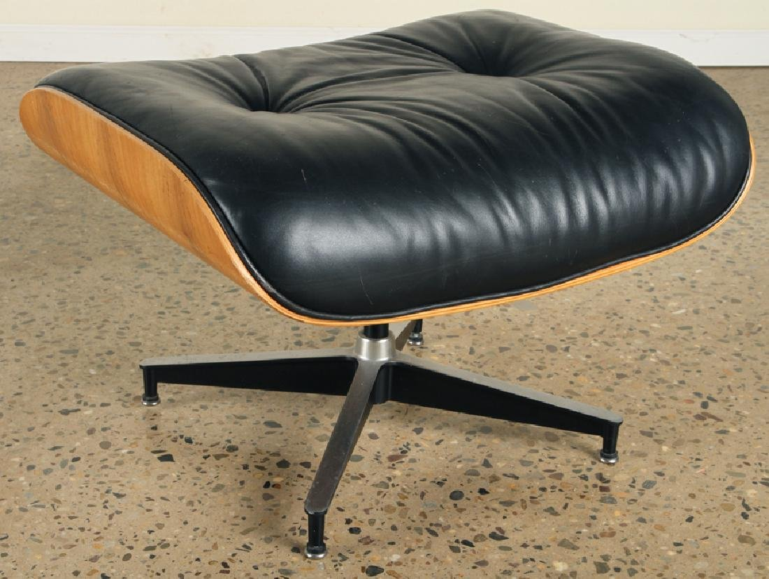 CHARLES EAMES FOR HERMAN MILLER CHAIR & OTTOMAN - 6