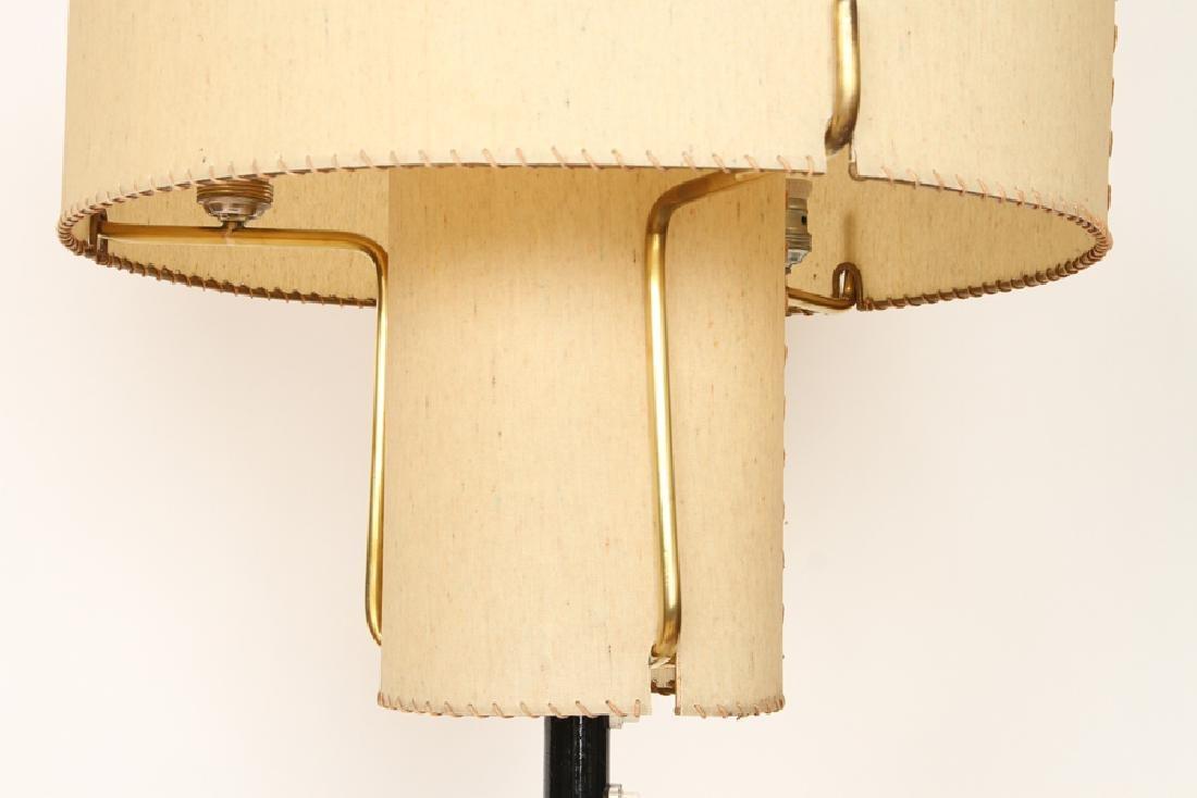 MID CENTURY MODERN ITALIAN BRASS FLOOR LAMP - 4