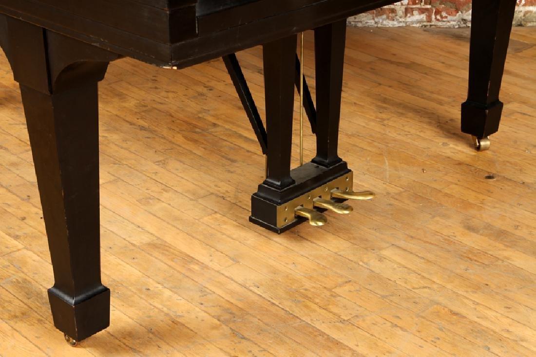 EBONIZED BABY GRAND MODEL M PIANO BY STEINWAY & SONS - 6