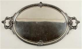 JOHN R. WENDT STERLING SILVER TRAY 183.75 TR OZ