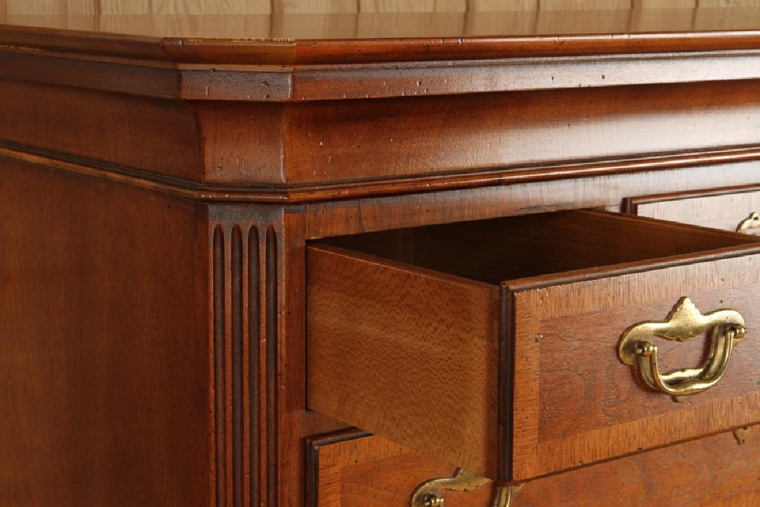MAHOGANY CHEST ON CHEST & BACHELORS CHEST BAKER - 2