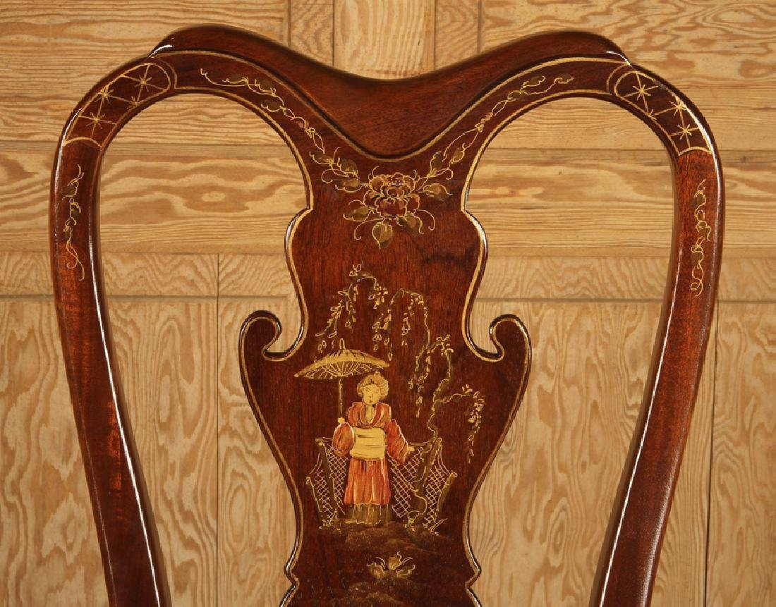 SET 4 QUEEN ANNE STYLE SIDE CHAIRS BY CENTURY - 4