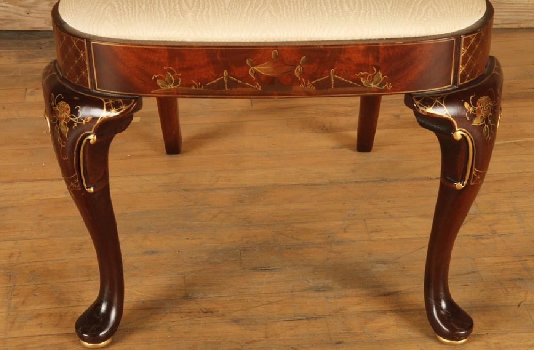 SET 4 QUEEN ANNE STYLE SIDE CHAIRS BY CENTURY - 5