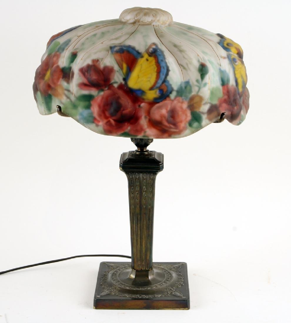 AMERICAN PAIRPOINT PUFFY TABLE LAMP MARKED